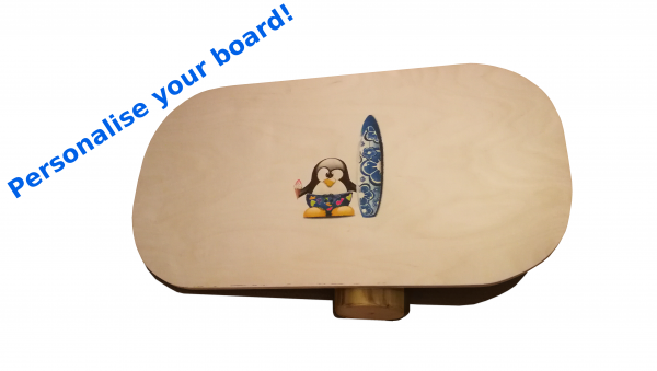 Personalised balance board