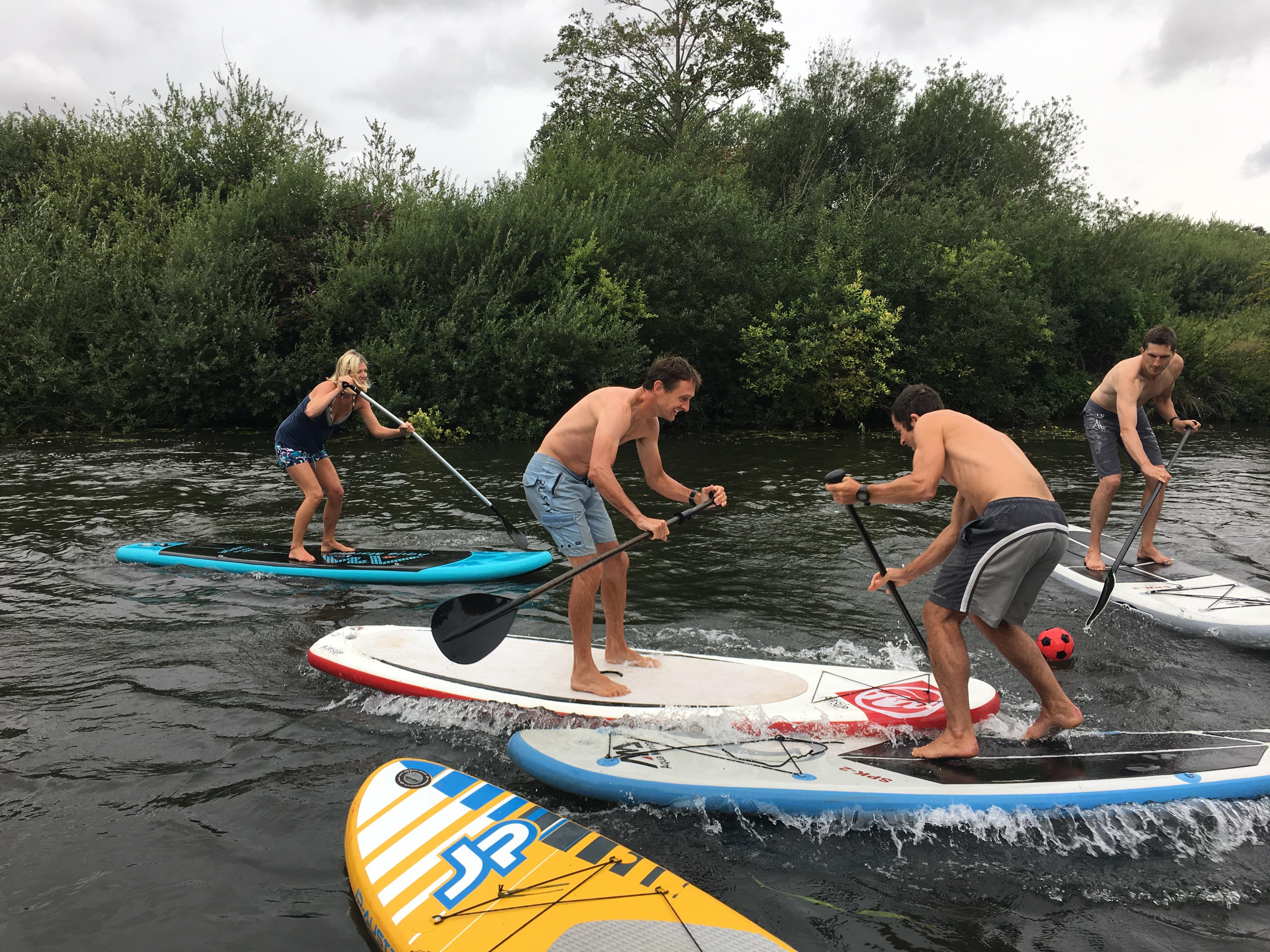 Bure River And SUP Polo