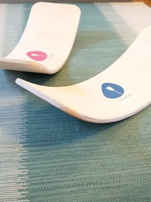 Blue And Pink Rocker Boards